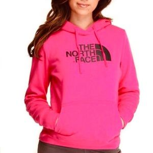The North Face Bright Pink Hoodie